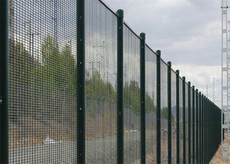 China hot sale in Nigeria high security fence factory