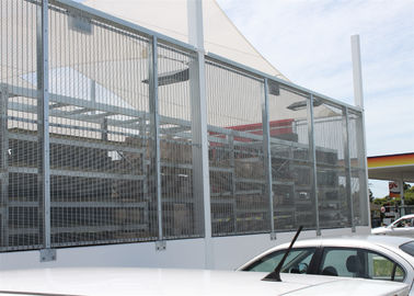 358 airport security fence/PVC 358 security fencing/ 358 wire wall fencing
