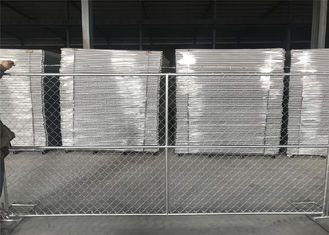"6'x12' chain link fence panels construction security 1⅝""(41.2mm) x1.8mm/15ga hdg to be 1oz/ft2 1.2oz/ft2 1.8oz/ft2 2.0oz"