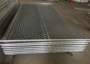 "China chain link fence panels 6'x12' 1½""(38mm) 1⅗""(40mm) 1⅝""(41.2mm) wall thick 16ga /1.6mm 16.5ga/1.50mm 366 gram/zinc coated factory"