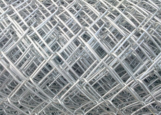 China Galvanized PVC Coated Security Chain Link Mesh Fence factory
