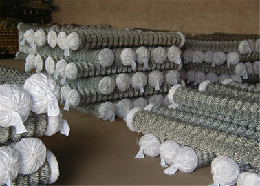 "China Zinc Coated Chain Link Fabric 0.148""/9Ga/3.66mm 	2""x2""/50.8mmx50.8mm  12ft x 50ft Hot dipped Galvanized 366gram/SQM factory"