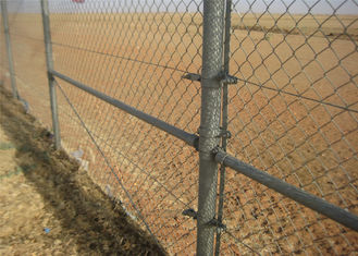 commercial /residential hurricane fence/chain link fabric