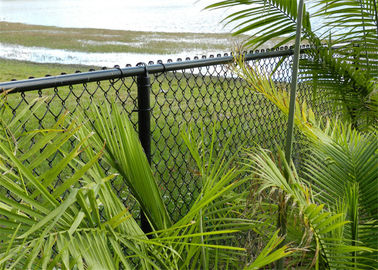 cyclone residential chain link fabric hurricane fence