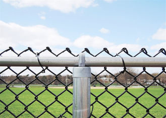 galvanized wire material pvc coated chain link fence ,pvc coated wire fence