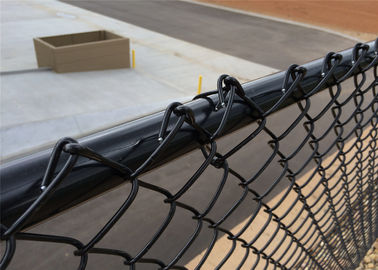 PVC Coated galvanized Chain Link Fence , Football field fence, basketball filed fence and Sport yard fence