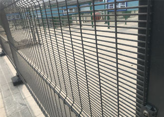Galvanized Corromesh anti climb cut fence for Detention Centres