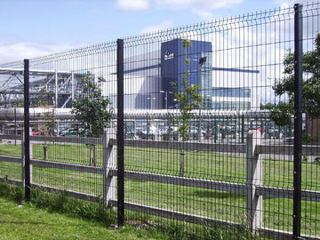 1730mm height, 2030mm height 3D Mesh Fence Panels With V beams Curved, High-Quality 3D Mesh Fence