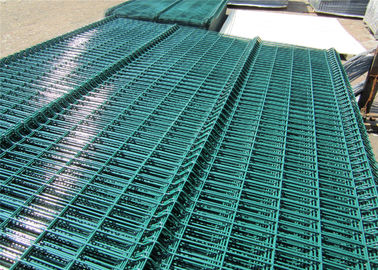 Powder Or Pvc Coated Galvanized Welded Wire Mesh Fence/Curved 3D Welded Wire Fence