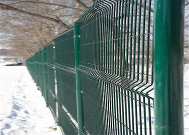 China Black Galvanized Wire Mesh Fence factory