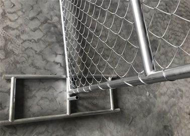 "China Temporary Chain Link Fence 6x12 mesh*2½""x2½""(63mmx63mm)  11.5ga factory"