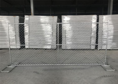 8FT X 12FT 12.5GA wire 38mm outer tubing temp chain link construction security fence panels