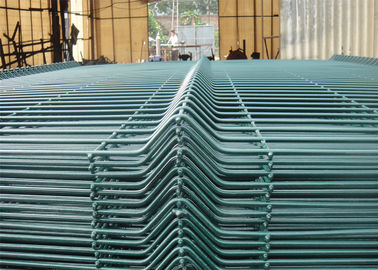 China 2430mm x 2500mm NYLOFOR 3D Wire Mesh Fence panels factory