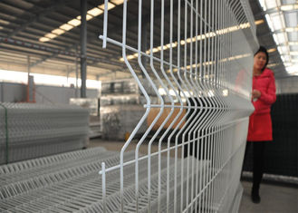 China PVC Coated Garden Wire Mesh Fence for Sale 1500mm width x 2430mm height factory