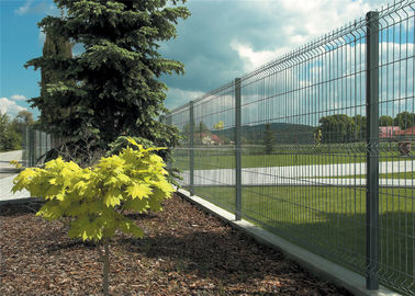 China manufacture 3d wire mesh fence 1830mm x 2500mm mesh opening :50mm x 200mm diameter 5.00mm factory