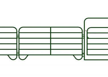 2400M X 1170MM 1 vertical tube10ft 12ft 14ft galvanized 25 NB N Stay Farm Gate Fence for Australia