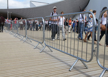 Crowd Control Barriers Hot Dipped Galvanized One Male/Female Hook Barriers 1100mm x2300mm Barriers