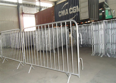 China crowd control barrier, pedestrian barrier/portable crowd control barriers factory