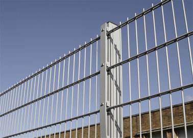 Powder Coated Decorative Pyramid Fence Panel 1630mm height x 2500mm width RAL 6005 Powder Coated 50mm*200mm