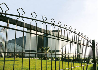 China Twin Wire Fence with Double Wire and Rebound Mesh, Used in Corporate/College Campuses/Playgrounds factory