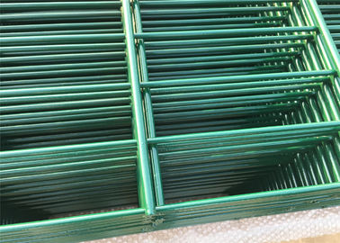 China 2D mesh fence Panels ,Rigidity Fence Panels 656 mm ,868 mm Hot Dipped Galvanized Or Powder Coated factory