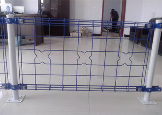 decorative Double Loop Wire Fence/Double Roll Top Welded Fence/Double Wire Loop Yard Fence direct Anping factory