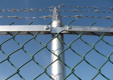 HDG chain link fence Hot-sell chain link diamond wire mesh fence