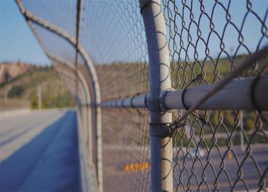 China chain mesh cyclone fencing for sale factory