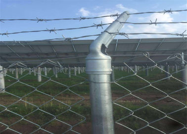 China 15m Length 150cm Height Pvc Coated Garden Temporary Chain Link Fence factory