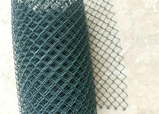 Black Vinyl Coated Steel Chain Wire Fence CYCLONE ,WIRE MESH FENCE