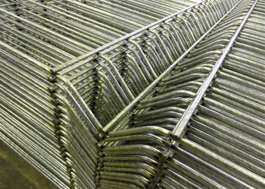 Wire Mesh Fence Panels Coated Blue and Dark Green With Powder Coated 2230mm x 2500mm