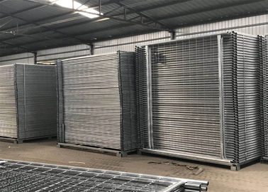 China Temporary Fencing Auckland 2100mm x 2400mm width 42 microns hot dipped galvanized for sale NZ standard temp fencing factory