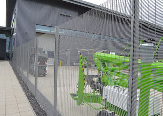China Security fence: military site pvc coated clearvu no climb fence factory
