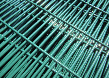 China Powder Spray 4mm wire diameter ClearVu 358 mesh fence factory