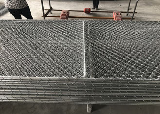 USA Market Chain Link Security Portable Temporary Fence Panels