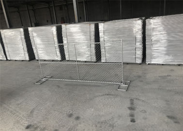 China Delivering to You Backyard Chain Link Temporary Fencing 6'x10' 1.625'/41.2mm tube wall thick factory