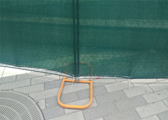 "temporary chain link fence panels 6'x12' mesh 60mm x 60mm tube 1.25""  16ga wall thick"