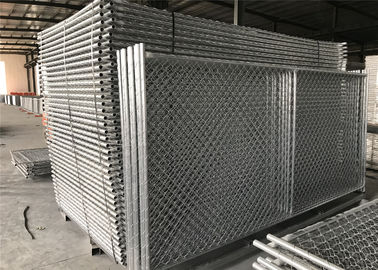 "6'X12' temporary fence panels for construction site tube 1⅝""(42mm) chain link fence panels tube"