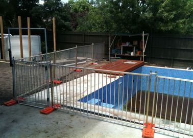 China AS 1926.1-2012 Swimming Pool Temporary Pool Fence Panels1.2m x 2.3m Panels Size factory