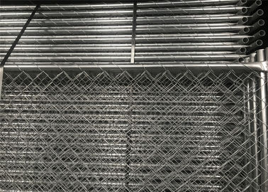 China American Standard Temporary Construction Fencing Panels 6'height x12'width Mesh 63mmx63mm Diameter 2.7mm 100gram/sqm HDG factory