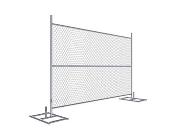 "Cross brace 6'x8' Construction Fence Panels 1.625"" /41.2mm Tube Wall Thick 16 gauge Mesh 2.25"""