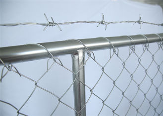 China 6'X14' /1830mm*4260mm Outer Tube 32mm and cross Brace OD 25mm tubing Mesh aperture 57mmx57mm factory
