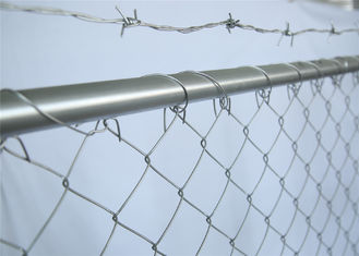China Cross Brace Chain link Construction Fencing Panels OD 41.20mm Wall thick 1.5mm 6'x12' Mesh 57mm x 57mm Diameter 2.2mm factory