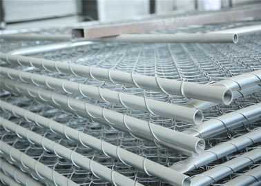 China Construction Chain Link Fence Panels ASTM 396 standard Hot dipped Galvanized and Pregalvanized factory
