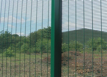 China galvanized 358 high security wire fence factory
