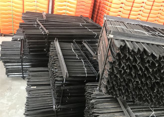 China 1800mm star picket for farm cattle panels weight 2.04kg/meter buitman balck coated star picket factory