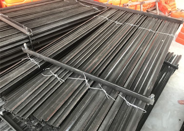 China 1.58kg/m star picket post for austrlia market stain black coated bituman 2100mm length factory