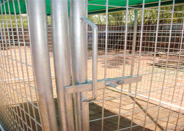 China Weld Wire Dog Kennel 1.8mx2.5m x 2.5m OD32mm wall thickness 1.5mm with covered cloth hot dipped galvanized factory