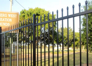Wholesale Custom Designed Aluminium Garrison Fence Panels for Garden Fencing