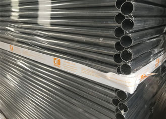 China 2.1mx2.4m temp fence Zinc coating: 200g/m2 for wire(28 microns); 300g/m2 for pipe(42 microns) Standard: AS4687-2007 factory